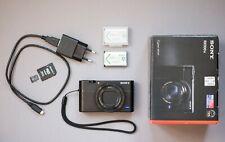 Sony Cyber-shot RX100 V 20.1MP Digitalkamera - Schwarz - Kompaktkamera