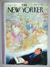 New Yorker Magazine - September 9, 1944 - FRONT COVER ONLY ~~ Garrett Price art