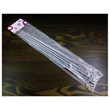 Spieße Stahlstäbchen für Spieße Grillspieße EDELSTAHL Barbecue 36,5 cm 10 Stück