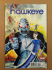 """ALL-NEW HAWKEYE V.2 #1 JEFF LEMIRE 1:10 """"KIRBY"""" VARIANT COVER NM 1ST PRINTING"""