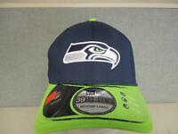MENS NFL NEW ERA SEATTLE SEAHAWKS NAVY LIME GREEN Bucket Hat L LARGE ... 222b98d5d0b0