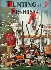 Vintage Hunting & Fishing Magazine December 1941 Great Cover Sporting