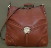GUCCI GG  Vintage  Messenger Shoulder Bag  Brown 115563 213048