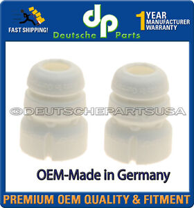 FRONT Strut Bump Stop fr AUDI A4 A5 A6 A7 Quattro SET Made in Germany 8K0412131F