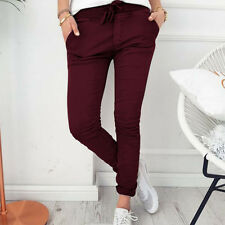 Womens Stretchy Skinny Jegging Pants Slim Fit Casual Trousers Leggings Fashion