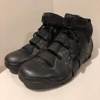 2006 NIKE Men's Zoom Lebron IV 4 Black Out Basketball Shoes Size 10