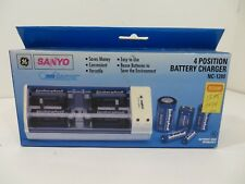 GE Sanyo 4 Position Battery Charger NC-1280