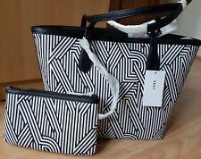 BNWT VERY SMART DKNY BAG COLOUR CRSW WHT-BLK