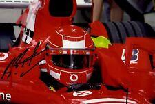Michael Schumacher Ferrari F1 World Champion Signed Photograph *Photo Proof* 3