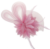 Mujer Horquilla Clip Flor Perlas Vintage Tocado Diadema Boda