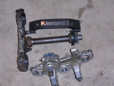 1984 Kawasaki ZN700A LTD ZN 700 A  triple tree steering stem fork clamps