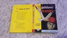I GIALLI DEL VELIERO TASCABILI MARTELLO IL GABBIANO ROSSO N.10 15/06/1950