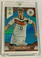 2014 Panini Prizm World Cup NATIONALS BLUE MOJO REFRACTOR /55 SP Thomas Muller🔥