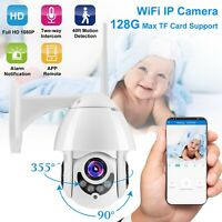 1080P FHD WIFI IP Wireless Camera Outdoor Home Smart Security IR Night Vision