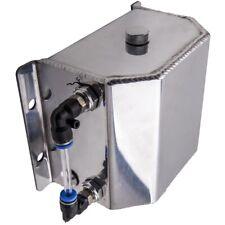 1L Alloy Aluminium Oil Catch coolant Can Tank with Aluminum Cap for car use