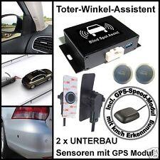 Toter-Winkel-Assistent mit High-Class-UNTERBAU-Sensoren incl. GPS-Speed-Modul