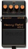 BOSS HM-2 HEAVY METAL DISTORTION GUITAR EFFECTS PEDAL 1988