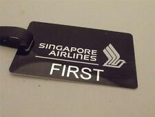 Novelty Luggage Crew Tags - Singapore Airlines SA1
