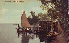 Germany AK Steinhude - Parti am Strandhotel 1909 mailed postcard