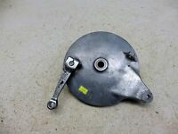 1972 Suzuki GT550 Triple GT 550 S688. rear brake plate hub drum