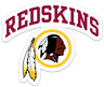 Washington Redskins NFL Color Die-Cut Decal / Sticker *Free Shipping