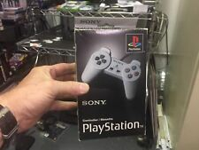 Official PlayStation PSONE Analog Controller Sony BRAND Gray PSX Ps1