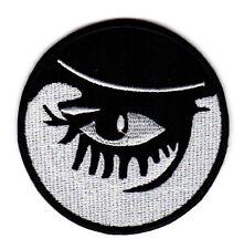 CLOCKWORK ORANGE EMBROIDERED IRON ON PATCH alex eye sci fi classic