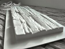 72 pcs plastic molds *VERMONT* for concrete veneer wall stone stackstone tiles ^