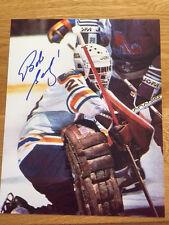 Buffalo Sabres Bob Sauve signed 8x10 W/COA pose 10