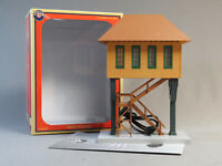 LIONEL LIGHTED YARD TOWER PLUG EXPAND PLAY O GAUGE house train yard 6-83751 NEW