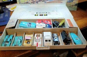 ORIGINAL AURORA PIT KIT with lots of stuff, Cars chassis parts Junkyard