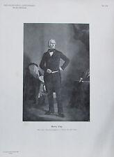 Henry Clay - Originaldruck aus 1898 Porträt alter Druck old print