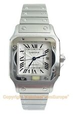 CARTIER Santos Galbee Large Automatic Steel W20055D6 Box/Papers Retail $6550