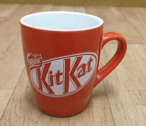 NESTLE KIT KAT RED MUG CUP TEA COFFEE NOVELTY CHOCOLATE KITCHENWARE ADVERTISING
