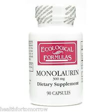 Ecological Formulas Monolaurin (Lauric Acid) 300 mg 90 caps