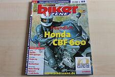 149975) Honda CBF 600 - Aprilia RXV 450 550 - Biker Szene 02/2008
