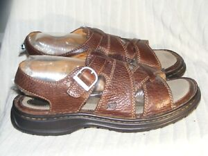 Men's Genuine Leather Sandals by Born - Worn Once - Sz 10 M