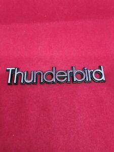 1983-1984-1986-1986-1987-1988 Ford Thunderbird Trunk Lid Emblem Badge