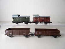 Piko / Prefo Spur N - Güterwagen Stückgutwagen, Hochbordwagen, Gepäckwagen