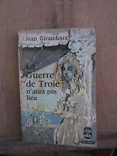Jean Giraudoux/ La Guerre de Troie n'aura pa lieu/ Bernard Grasset, 1935