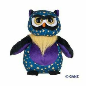 Ganz Webkinz SOLD OUT RETIRED plush starry Midnight Owl HM732 new w/ sealed code