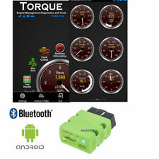 ELM327 OBD2 OBDII v1.5 Android Bluetooth Adapter Auto Car Diagnostic Tool Torque