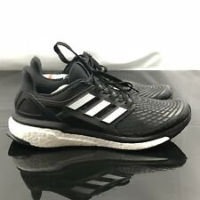 5c81c1a2bb386 Adidas Mens Black EnergyBoost Running Training Shoes Size 11