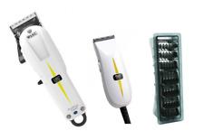 Wahl Cordless Super Taper Clipper, Super Micro Trimmer and 1-8 Black Clipper Com