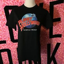 Unisex Planet Hollywood Myrtle Beach South Carolina Sc Graphic Tee Small S New