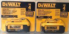 DeWalt DCB204-2 20V MAX Premium XR Lithium Ion 2-Pack NEW 2017