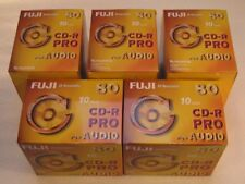 1x50 PACK FUJI CD-R PRO80 AUDIO Rotation Stabilizer WriteOnce NEU(world*)002-132