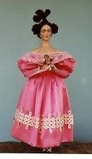 1830's French Fashion With Ribbon Trim Sewing Pattern for 24 Inch  Doll #89