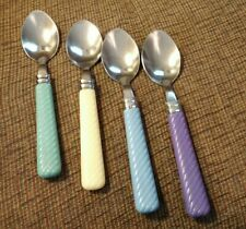 Gibson Houseware 18/0 Tablespoons/Ribbed, Spiral Handle / Lot of 4