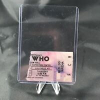 The Who Freedom Hall Louisville KY Concert Ticket Stub Vintage September 1982